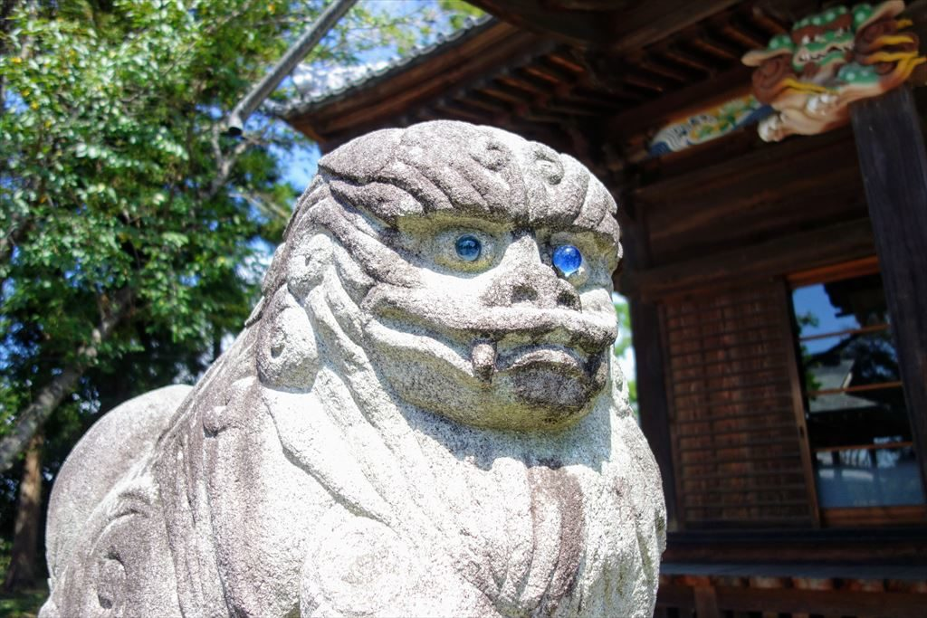 人丸神社の狛犬