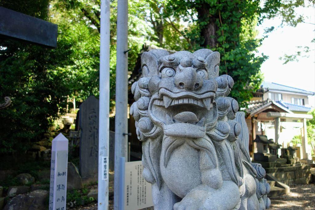 星宮神社の狛犬
