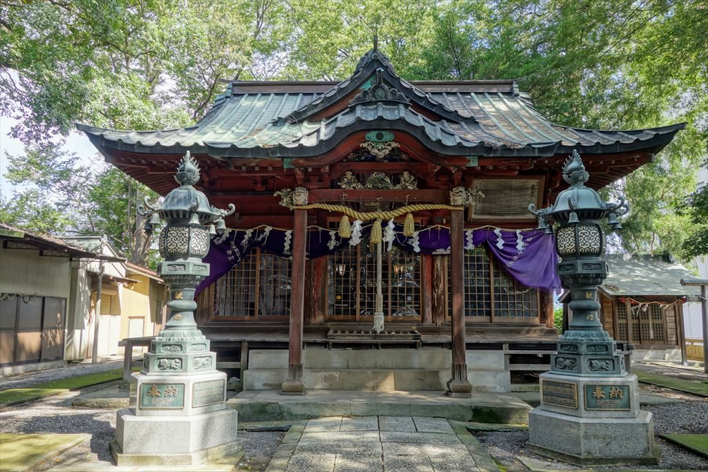 星宮神社の社殿