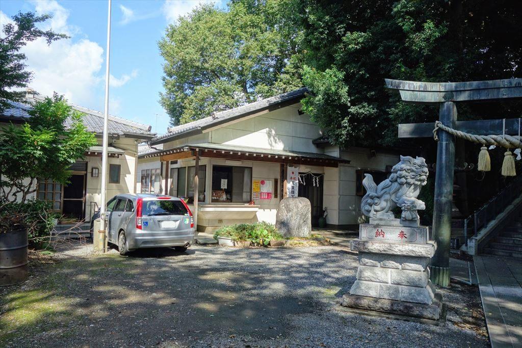 星宮神社の社務所