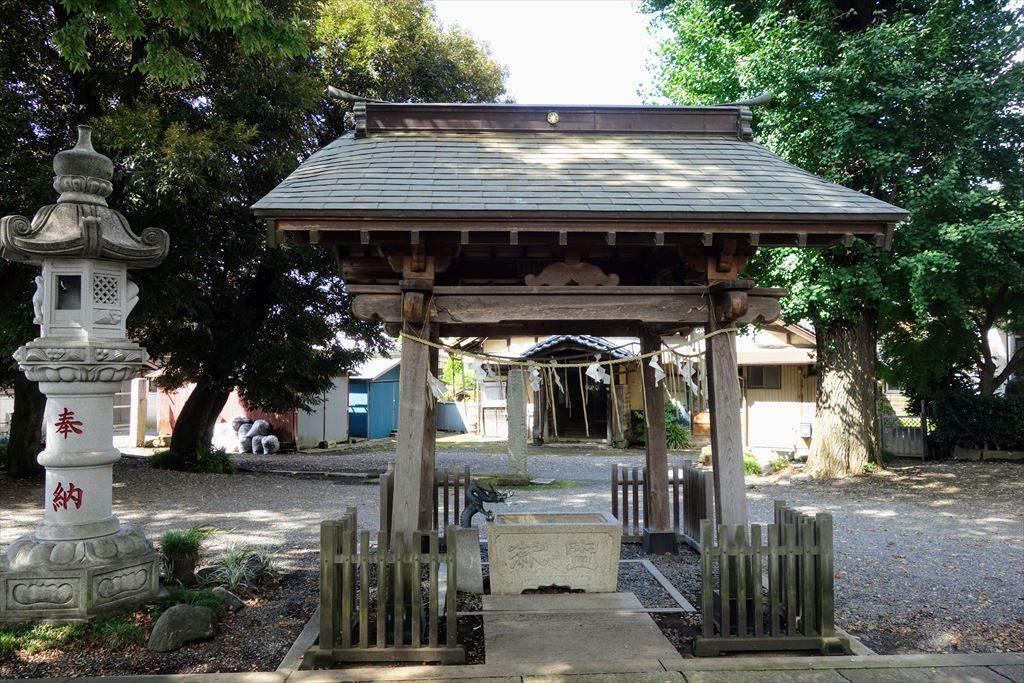 星宮神社の手水舎