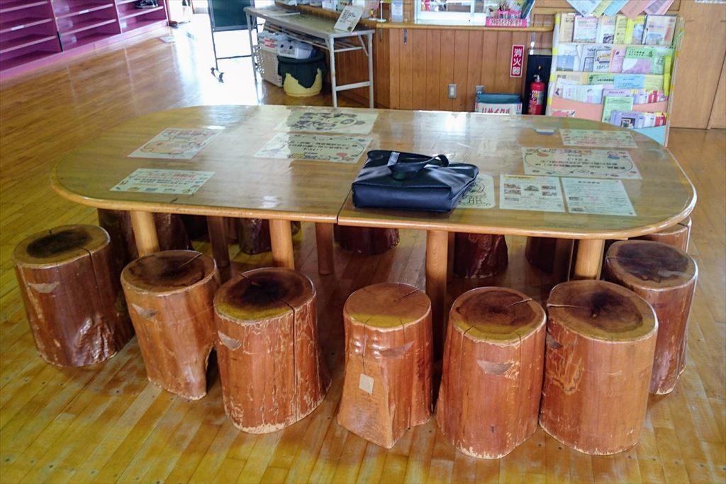 佐野市「児童館」の休憩スペース