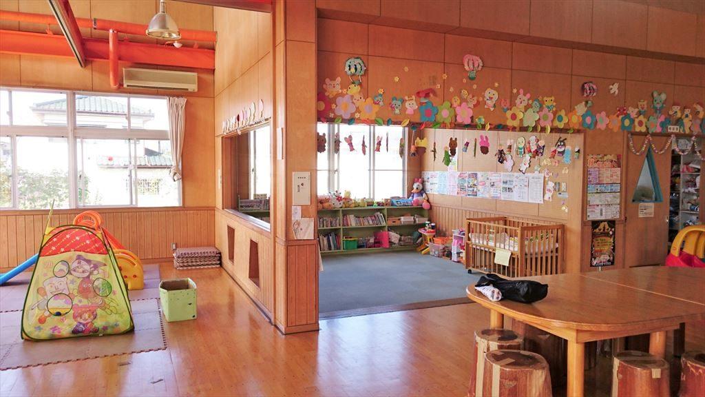 佐野市「西児童館」の様子