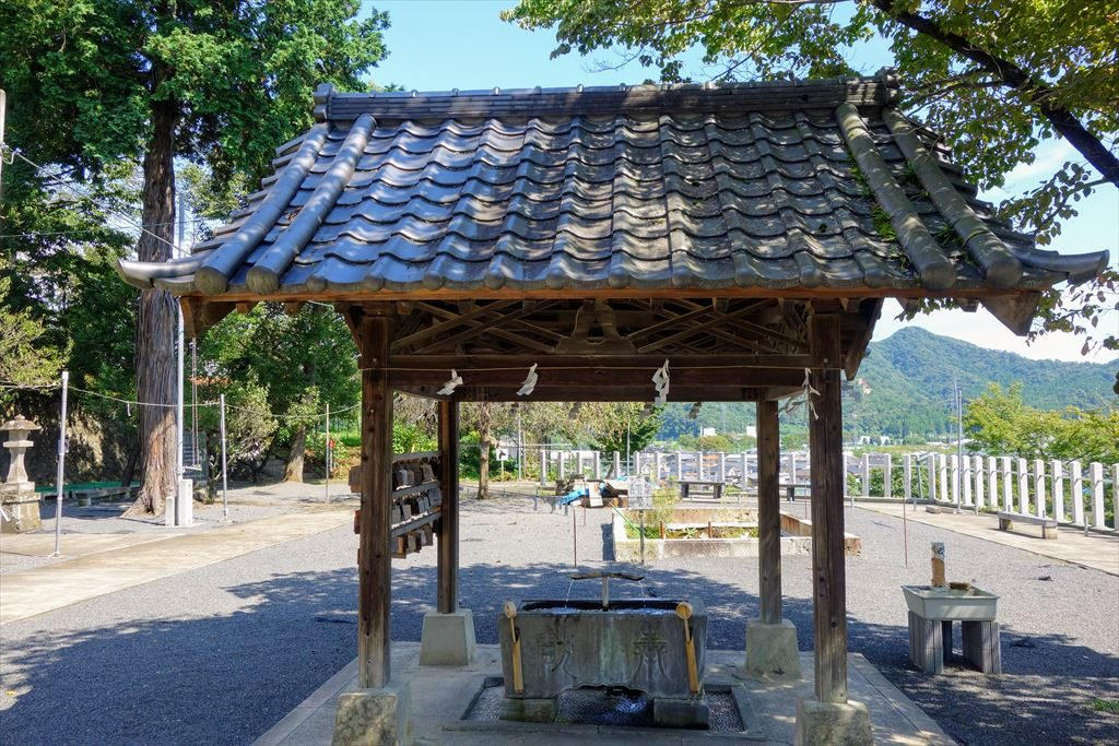 賀茂別雷神社の手水舎