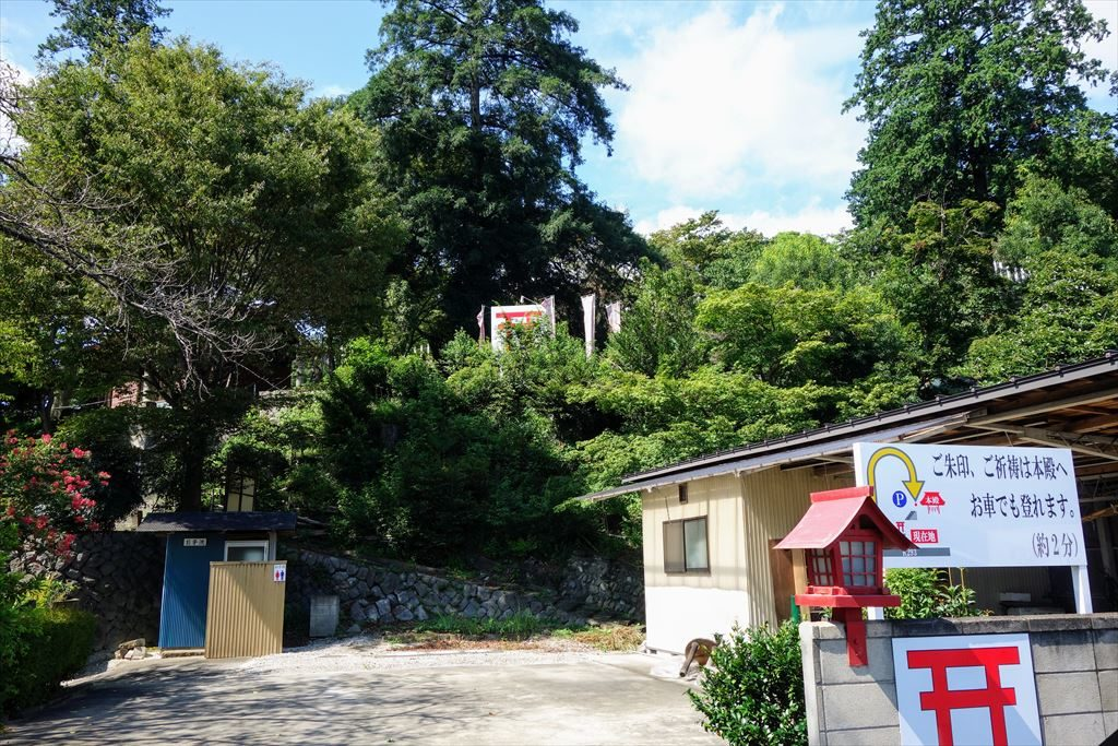賀茂別雷神社の駐車場
