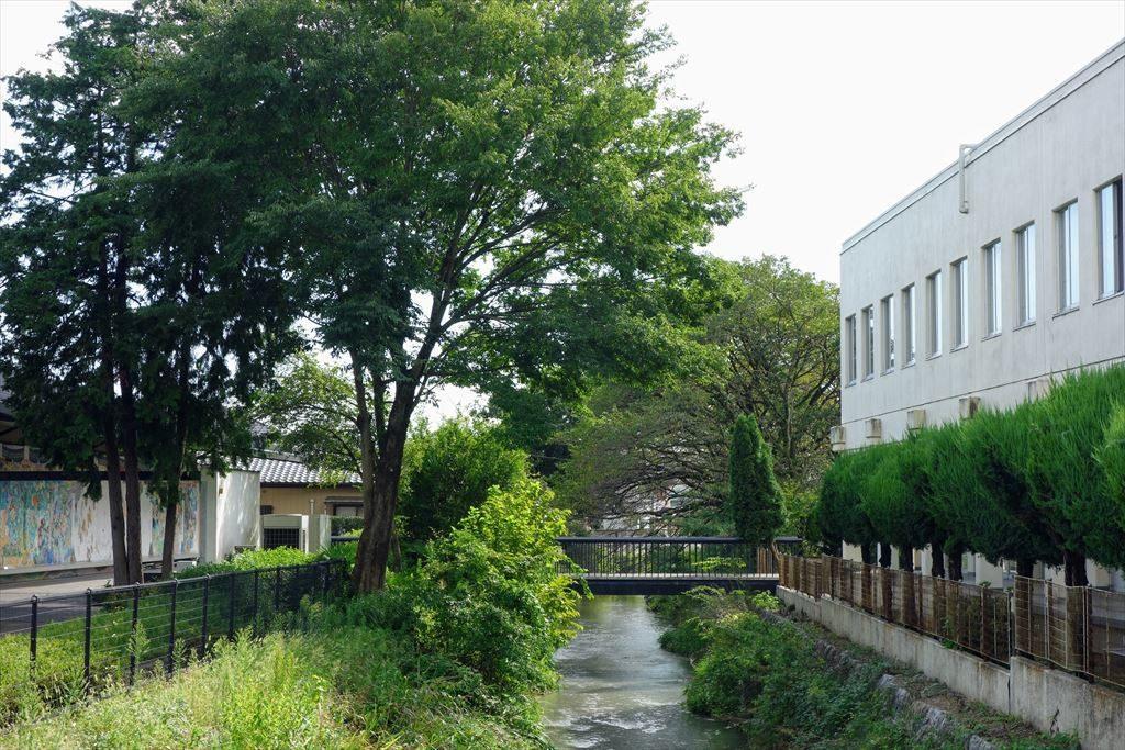葛生伝承館の周りの風景