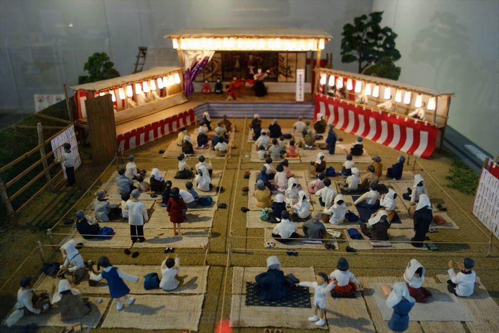 葛生伝承館の牧歌舞伎