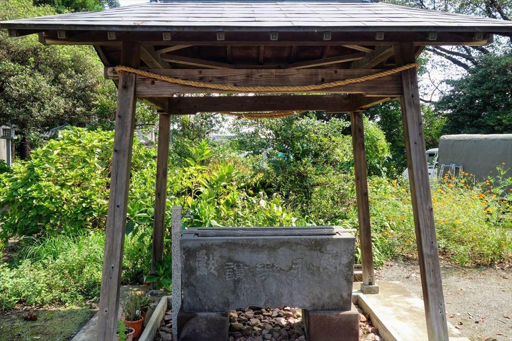 沼鉾神社の手水舎