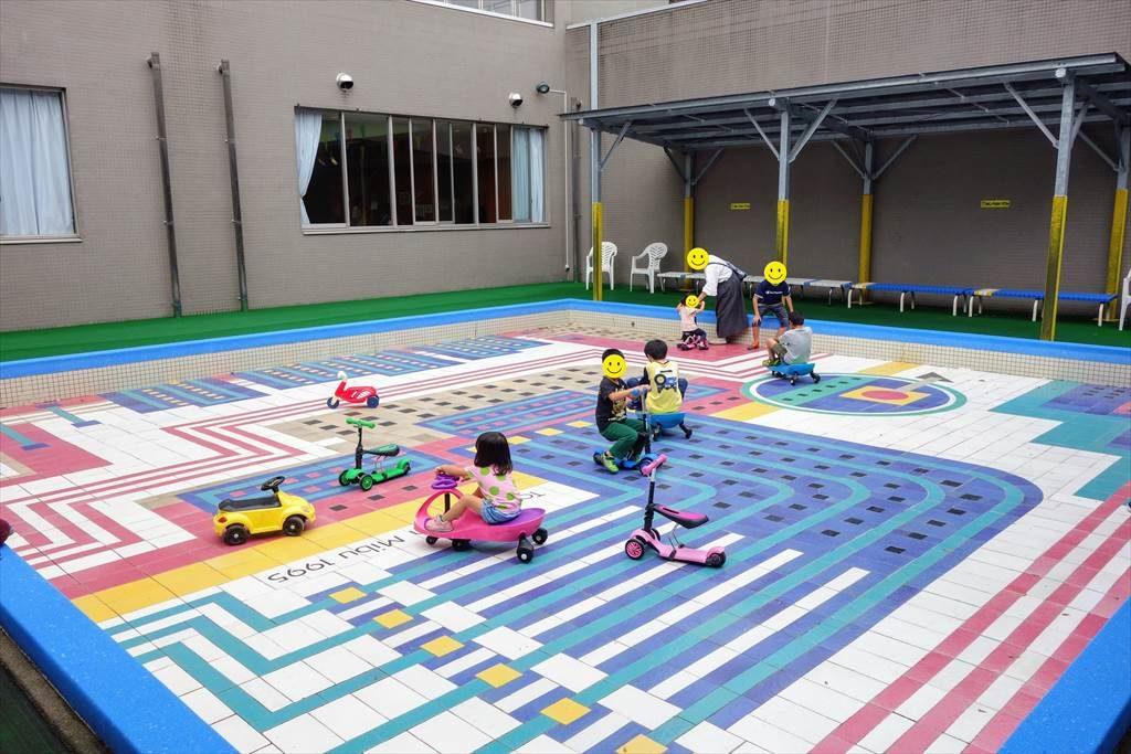 壬生町おもちゃ博物館の「なかにわ」
