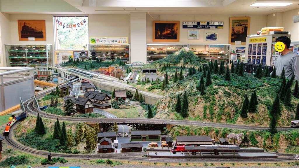 壬生町おもちゃ博物館の「鉄道模型コーナー」