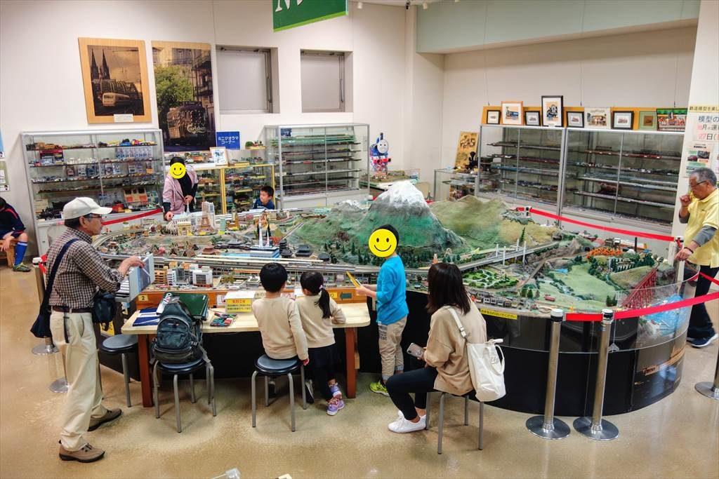 壬生町おもちゃ博物館の「鉄道模型コーナー」2