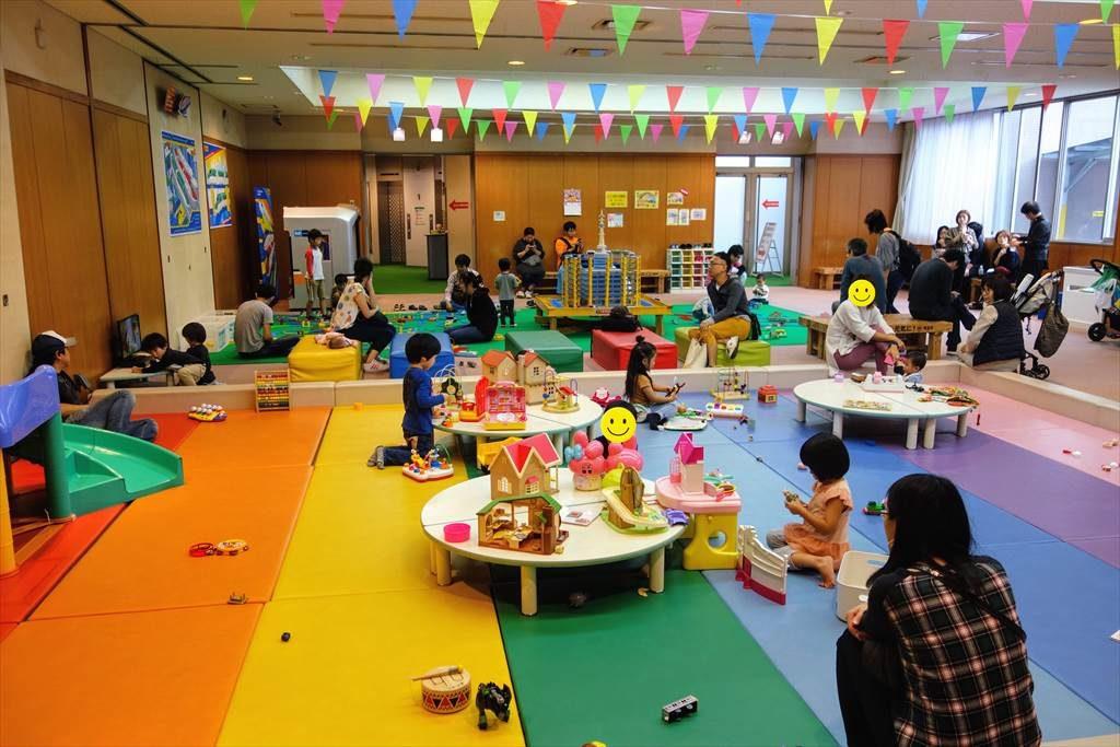 壬生町おもちゃ博物館の「おもちゃとあそびのへや」