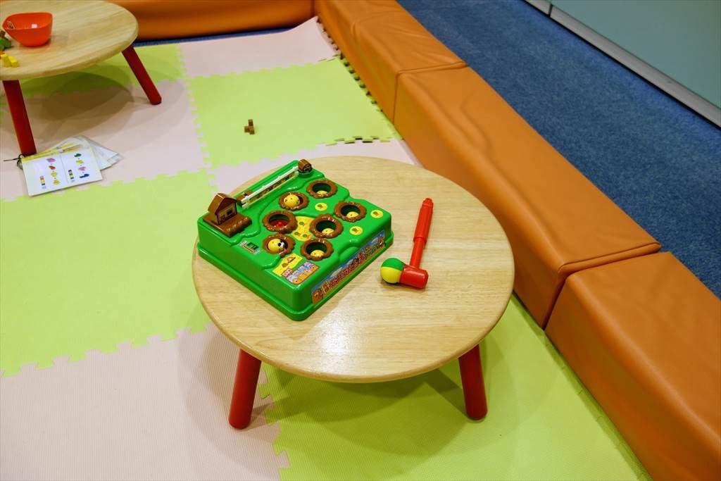 壬生町おもちゃ博物館「きっずたうん」のげーむのひろばのおもちゃ