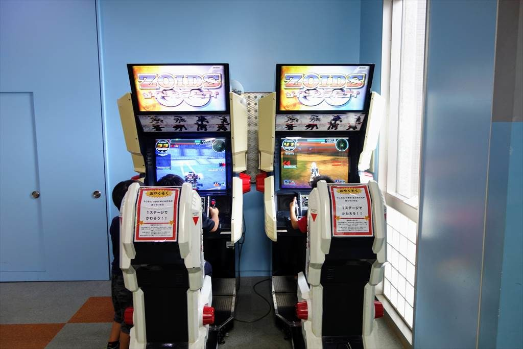 壬生町おもちゃ博物館「きっずたうん」で遊べるアーケードゲーム