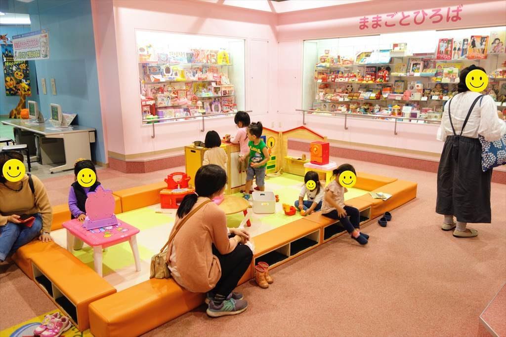壬生町おもちゃ博物館「きっずたうん」のままごとひろば