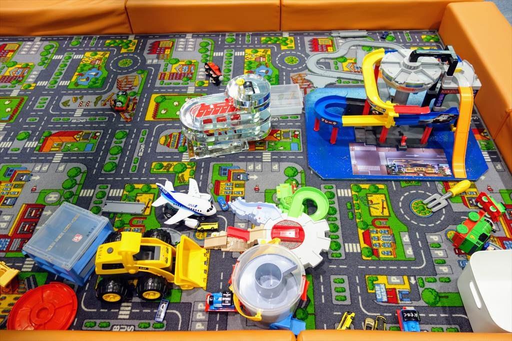 壬生町おもちゃ博物館「きっずたうん」ののりものひろば