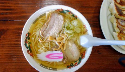 【食レポ】ゆたかや|肉汁が溢れ出るチャーシューと餃子が絶品の佐野ラーメン店