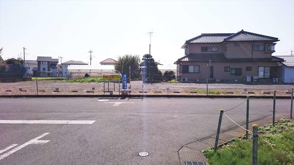 佐野新都市バスターミナルの第4駐車場の追加駐車スペース