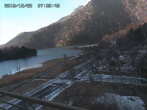 湯元温泉の積雪状況が分かるライブカメラ画像