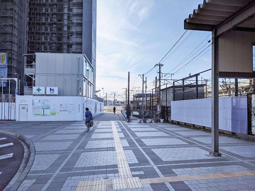 小山駅東口の喫煙所への道順3