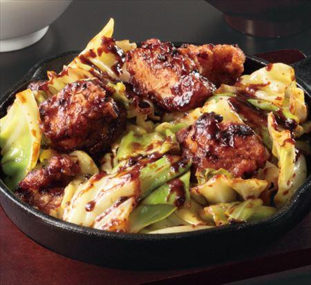 鶏回鍋肉定食