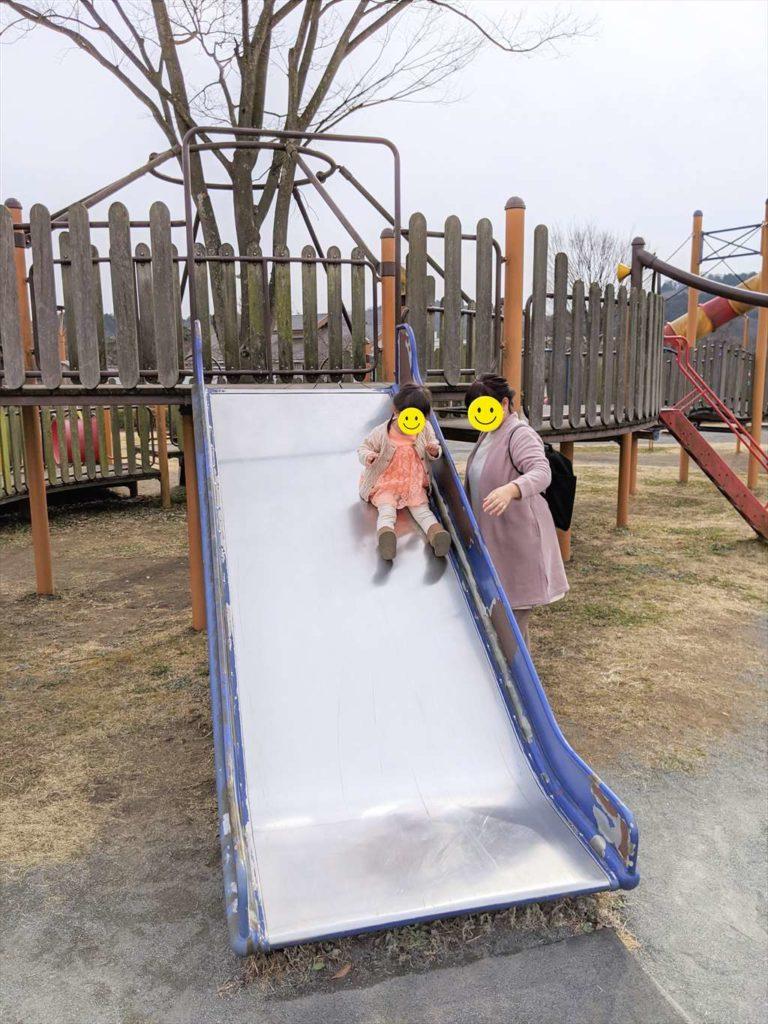 永野川緑地公園のすべり台6