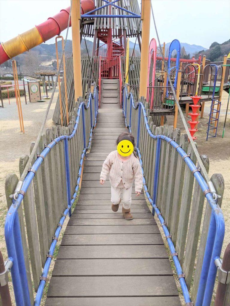 永野川緑地公園の大型複合遊具1