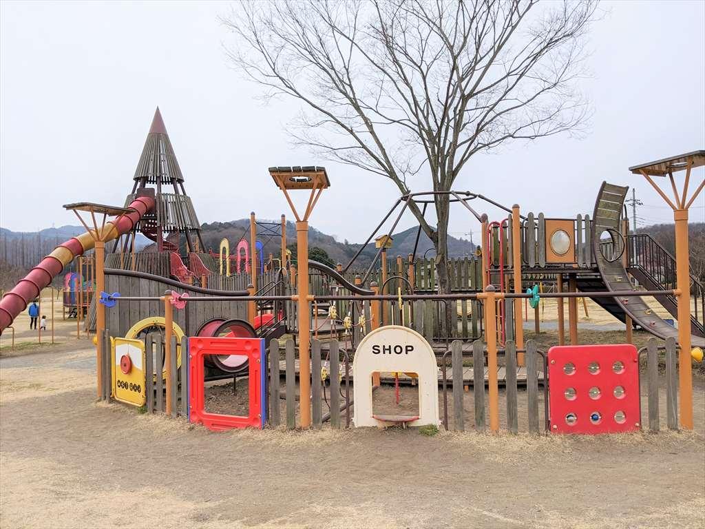永野川緑地公園の砂場