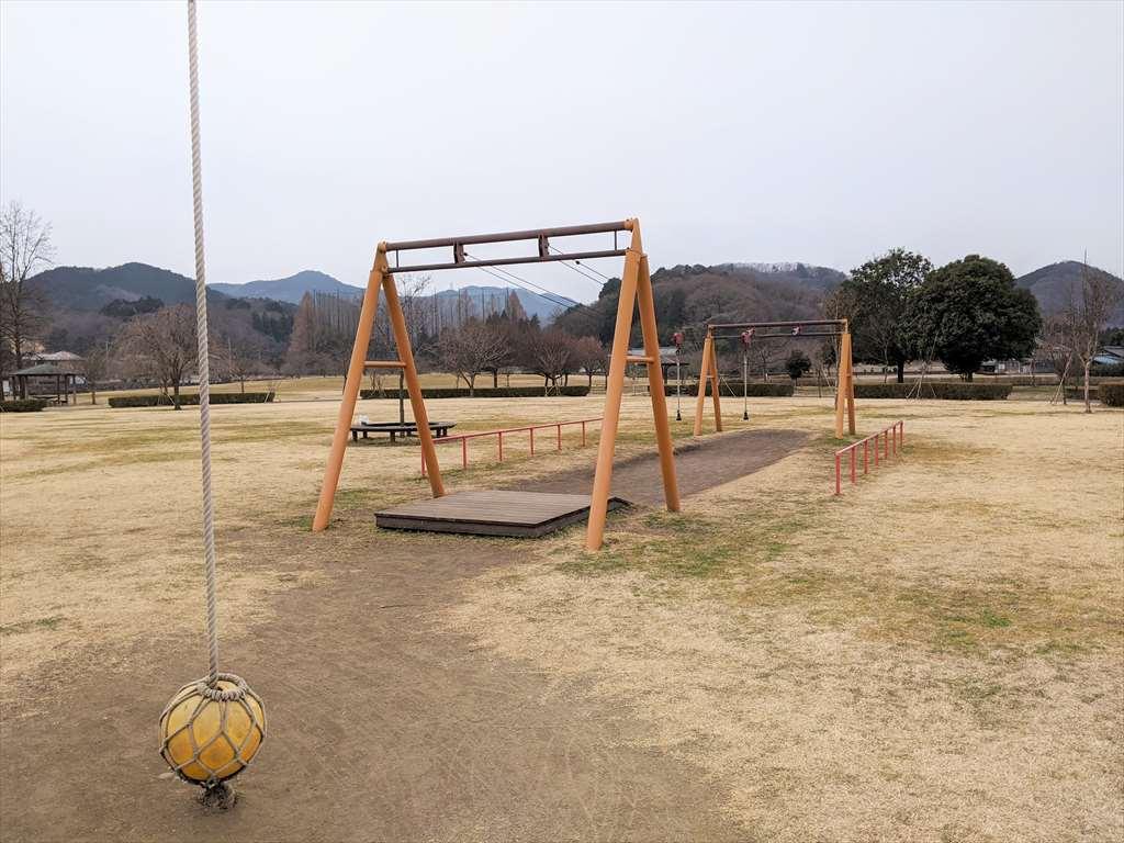 永野川緑地公園の遊具3