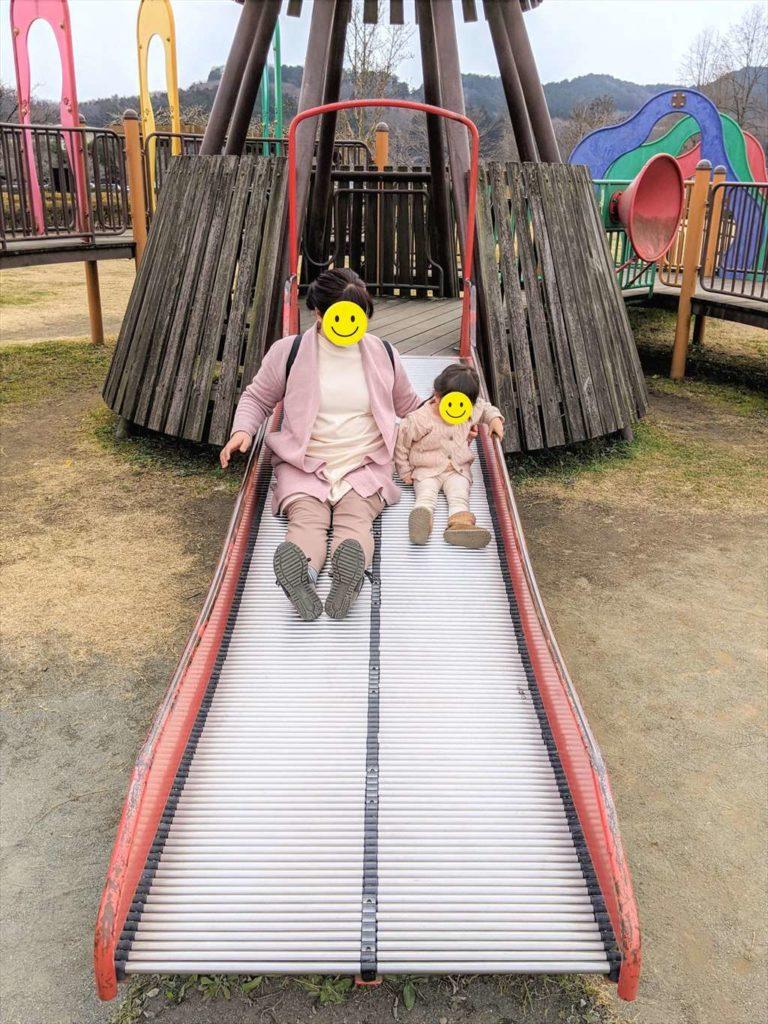 永野川緑地公園のすべり台5