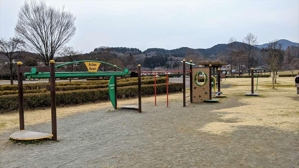 永野川緑地公園の遊具2