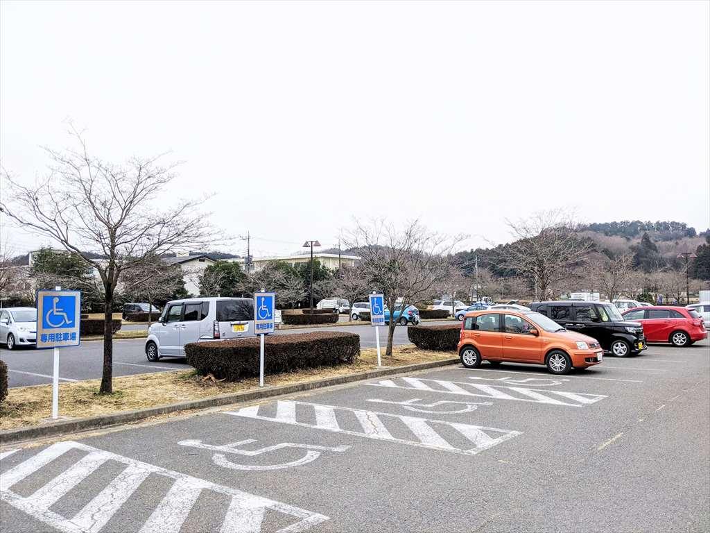 永野川緑地公園の駐車場