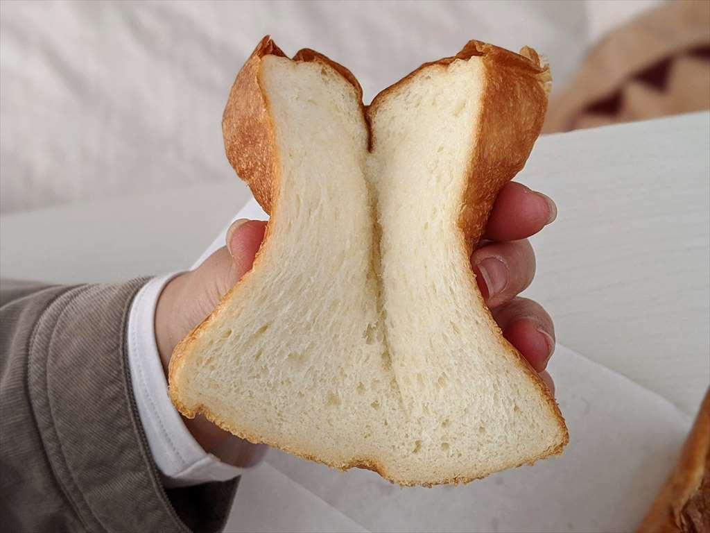うまい食パン(狙いうち)の柔らかさ