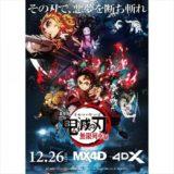劇場版「鬼滅の刃」の4DX・MX4D版が上映決定!熱風エフェクトも!栃木県の上映館をチェック